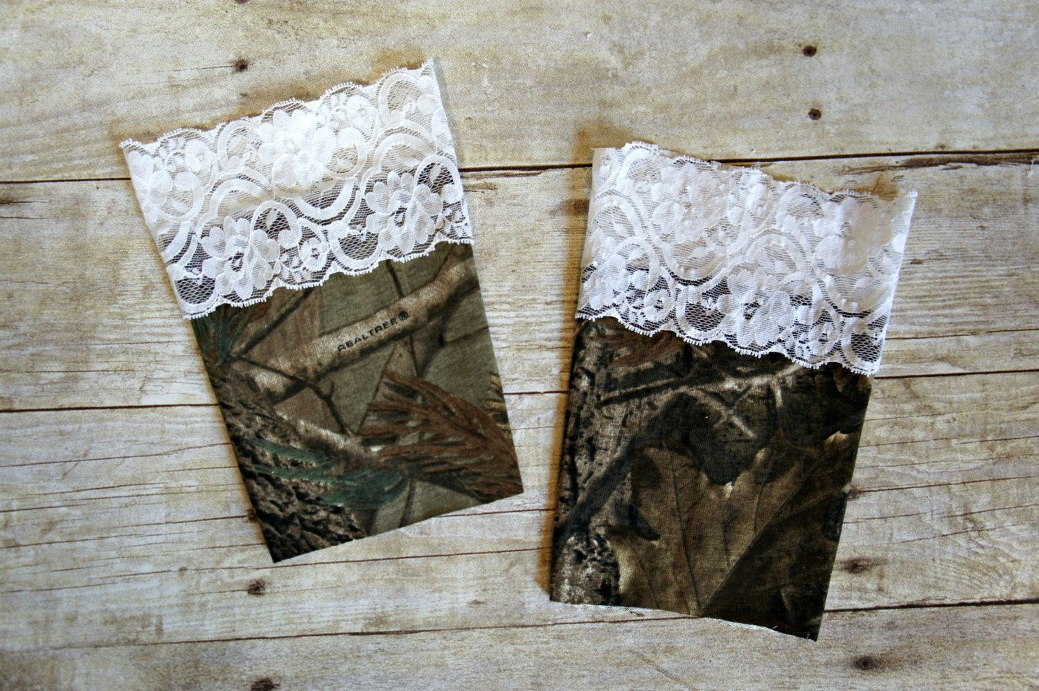 Realtree wedding dresses  Realtree Camo AP with White Lace Trim Boot Cuffs Toppers Leg Warmers