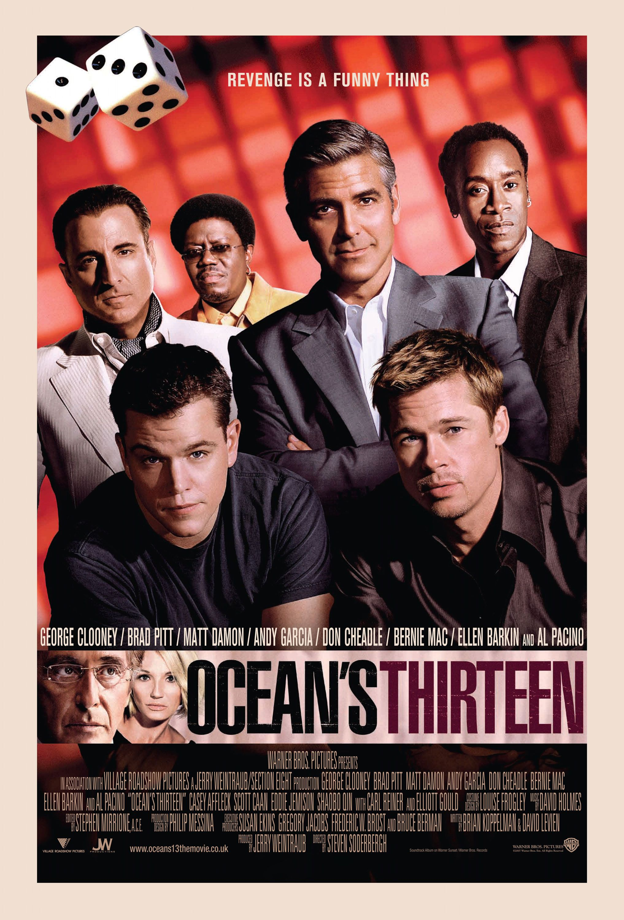 Ocean S Thirteen With Images Ocean S Movies Oceans Thirteen