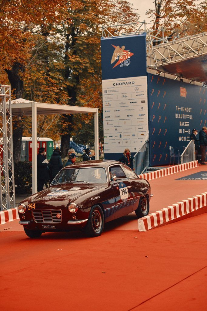 Chopard official timekeeper of the worlds most beautiful car race 1000 Miglia