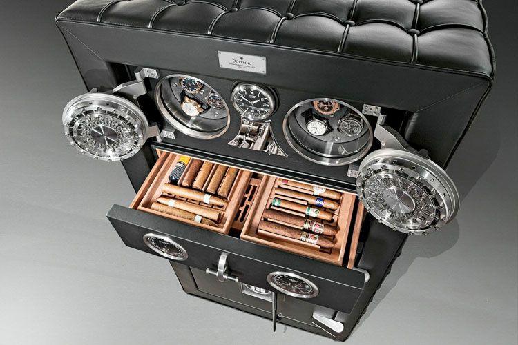 Luxurious Humidors -- Humidificadores de diseño para cigarros