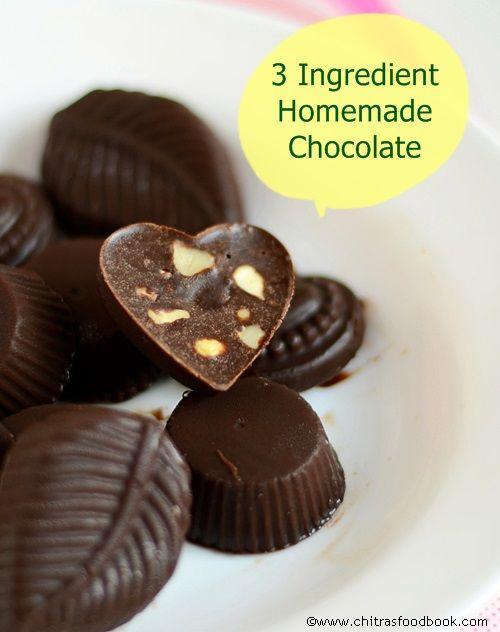 Easy Homemade Chocolate Recipe With Cocoa Powder How To Make Chocolate At Home Recipe Homemade Chocolate Chocolate Recipes Homemade Chocolate Recipes