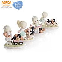 908675 - Precious Moments Paw-fect Moments Together Figuri…
