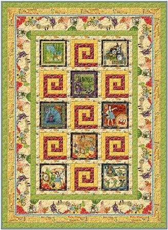 Wilmington Prints Magic of Oz Quilt Kit 63x87 | Sewing Projects ... : wizard of oz quilt kit - Adamdwight.com