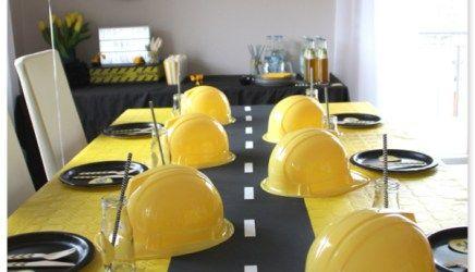 Baustellen Party Im Hause PickPosh: Party Deko Ideen Und Partyfoods