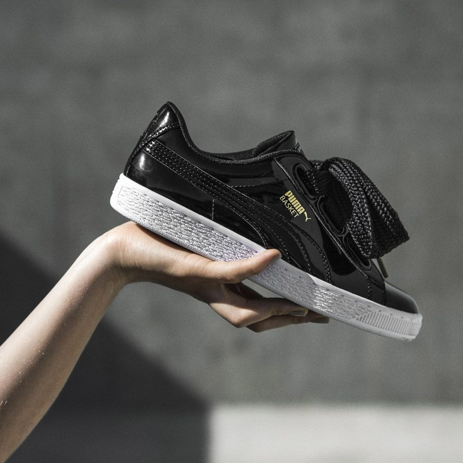 Basket Heart BlackShoes Chaussures Puma De deBCrox