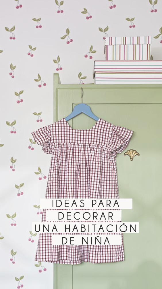Ideas de decoración para la habitación de una niña!