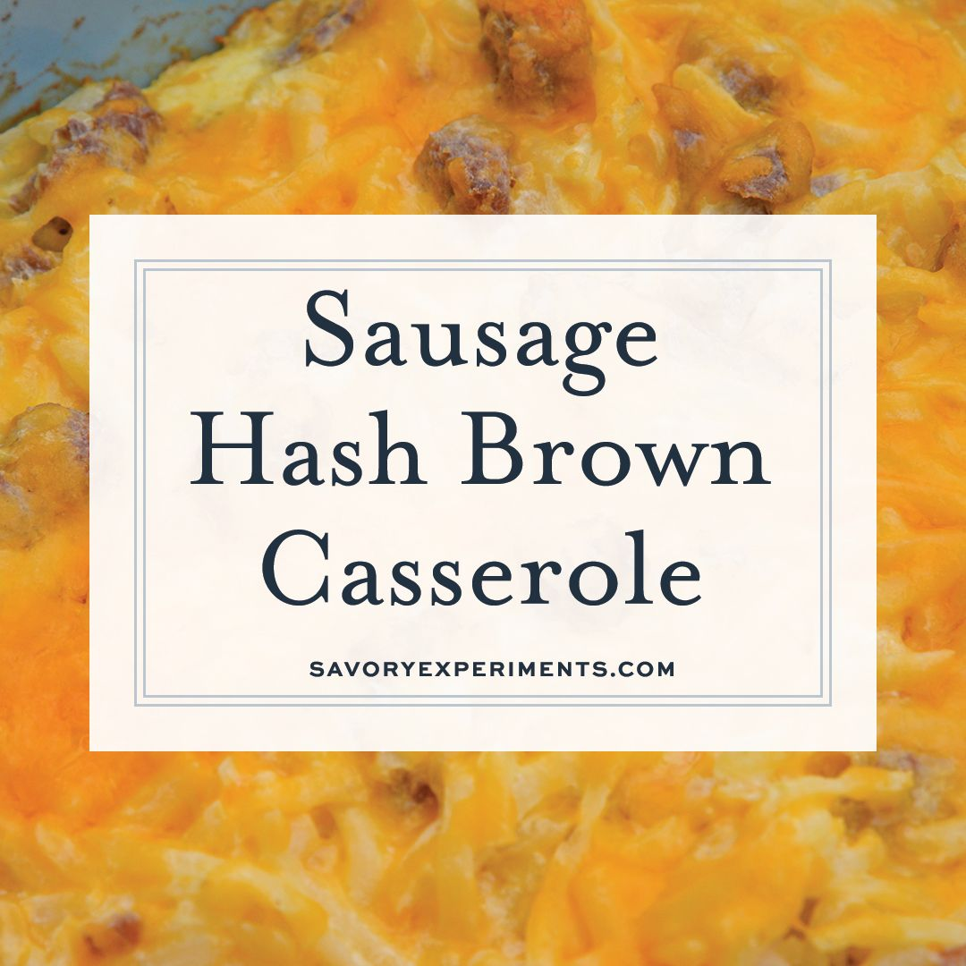 Sausage Hash Brown Casserole images
