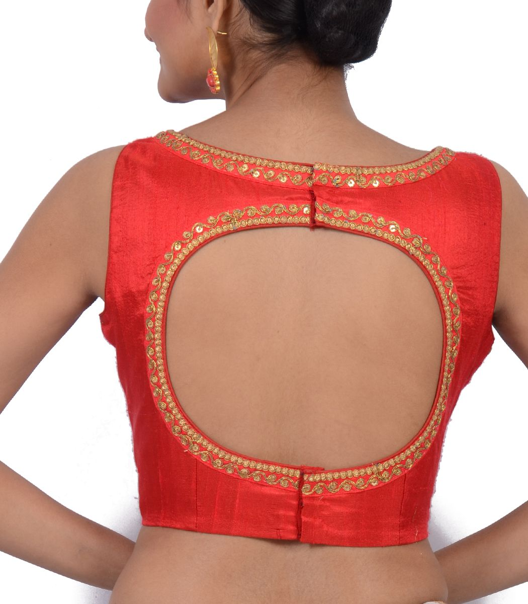 Red raw silk designer blouse bl indian house agencies also rh ar pinterest