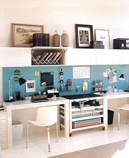 Fabelhafte Design Tipps und Ideen für kleine und große Arbeitszimmer ...