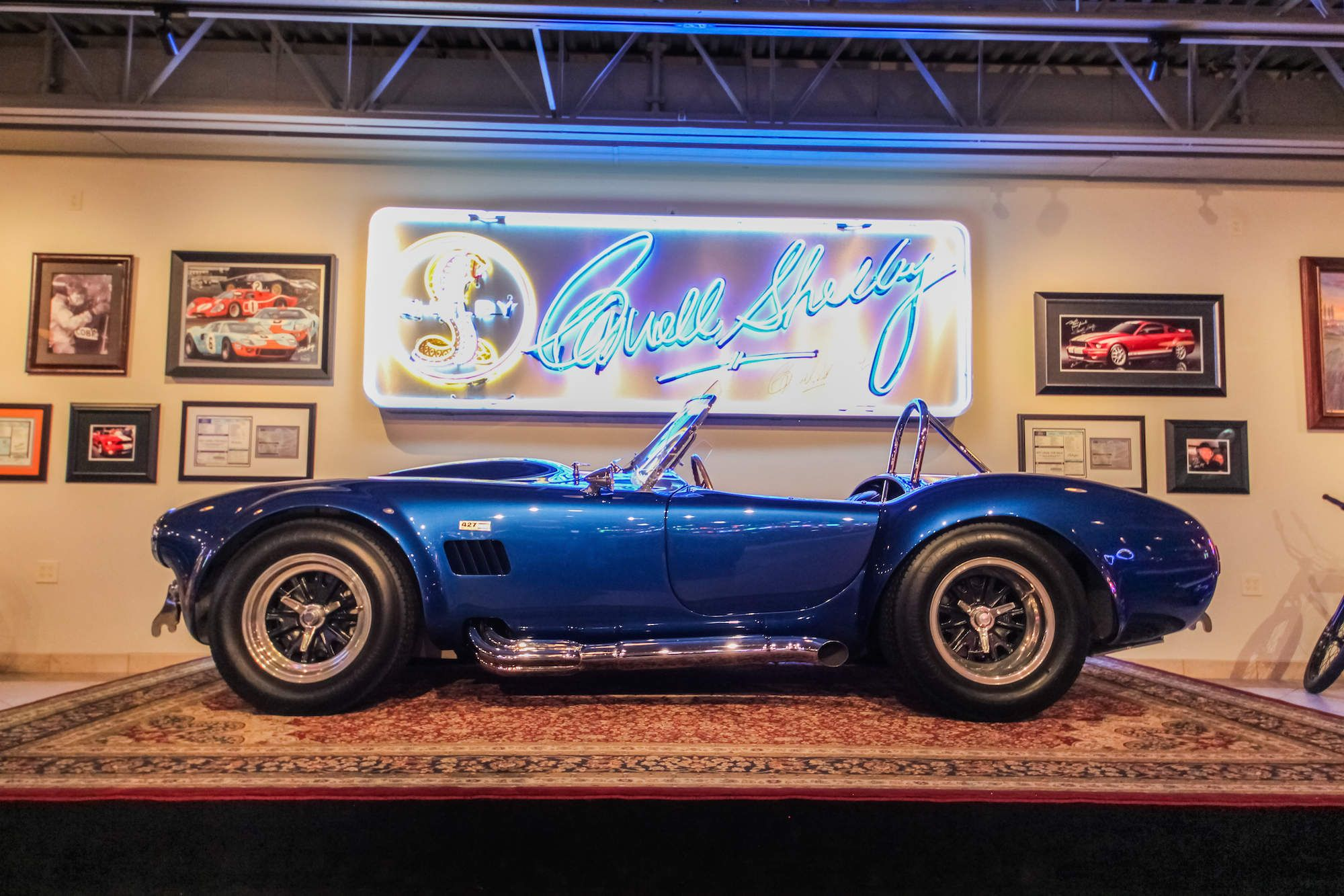 1966 shelby cobra super snake carroll shelby built this car as his personal plaything here s