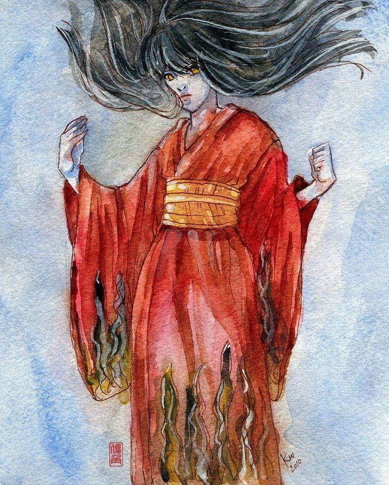 Fatal Frame IV: Sakuya by Shunkaku | Fatal Frame | Pinterest | Fatal ...