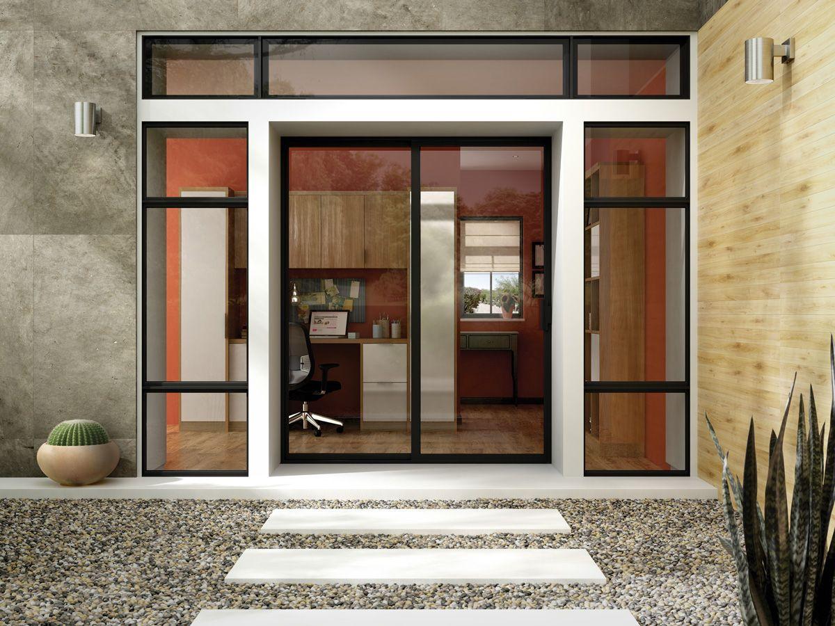 Exterior Black Patio Door Frames From Aluminum Series Replacement Patio Doors Sliding Patio Doors Best Sliding Glass Doors