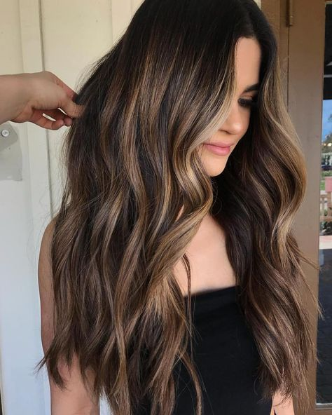21 balayage dark brown hair color ideas for changing up your