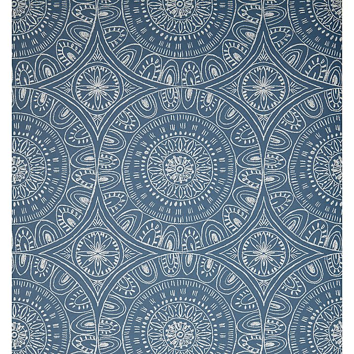 Buy John Lewis Persia Wallpaper, Indian Blue Online at johnlewis.com