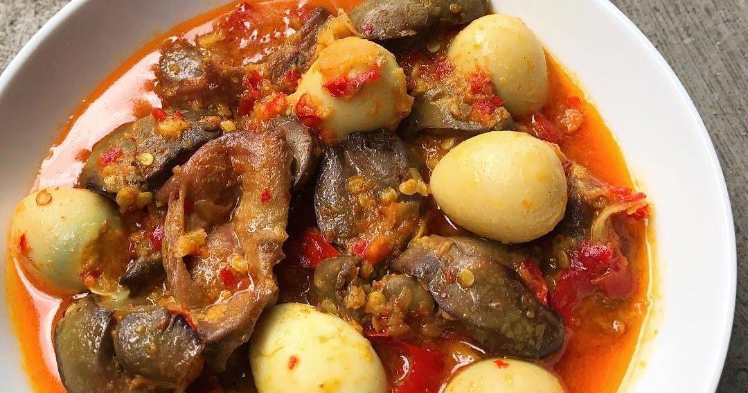Resep Ampela Ati Ayam Kuah Pedas Sederhana By Dianayupuspitasari Resep Resep Masakan Indonesia Masakan