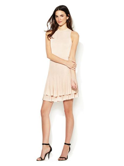 Lena Fluted Tank Dress