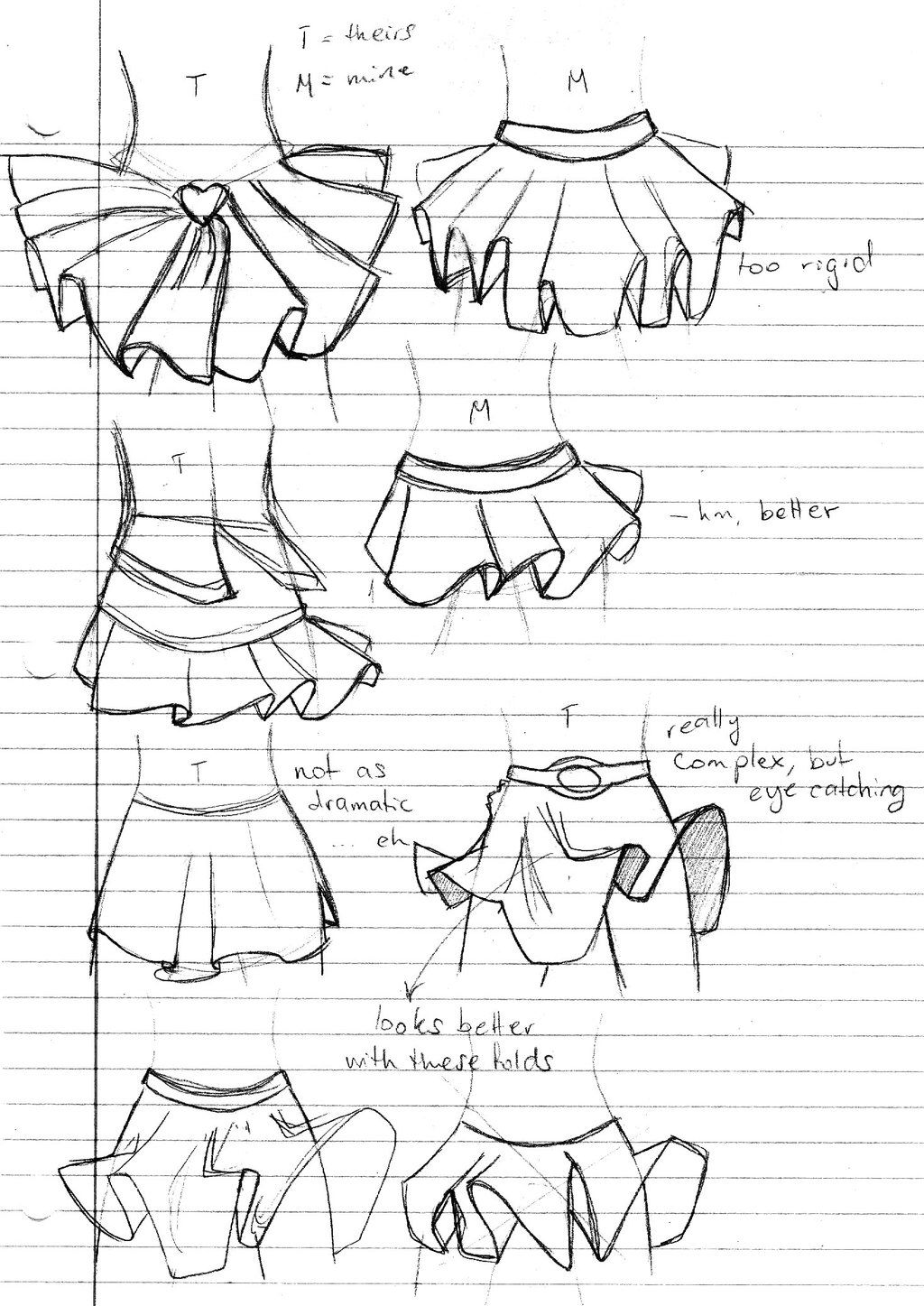 How To Draw Skirts Because They Are Annoying Asf To Draaaaaaw Anime Drawings Anime Dress Drawing Clothes