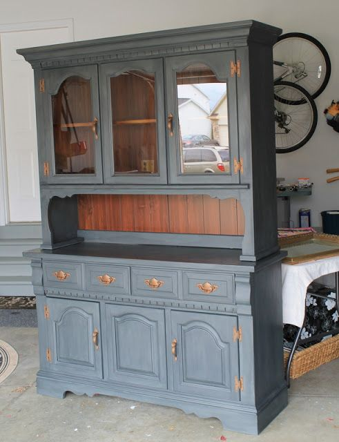 Delicieux Lucky Star Lane: Painted Furniture: Another China Cabinet Complete...this  Looks Just Like My China Cabinet But Redone Of Course! Love This