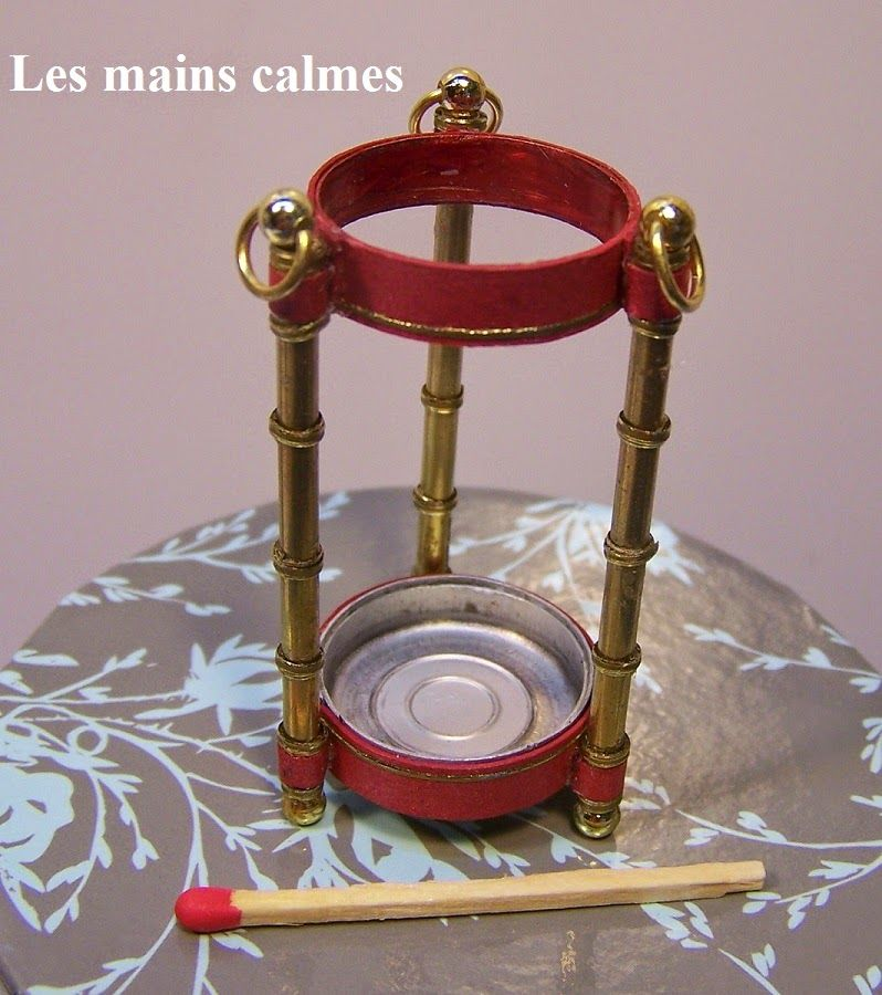 les mains calmes: umbrella holder tutorial