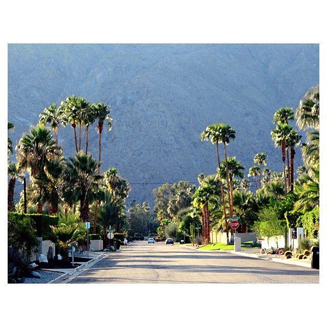Bucket List -1. #PalmSprings #california #vacation #road #palmtrees #sunset by herrhildebrand