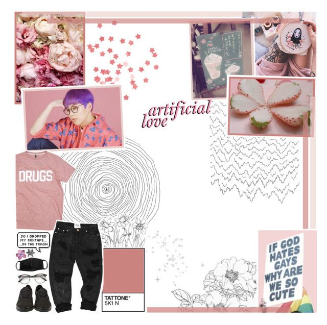 """☾❀  뭐가 진실이고  거짓인지  말해  줘"" by the-house-of-wolves ❤ liked on Polyvore featuring art and gottatagrandomn3ss"