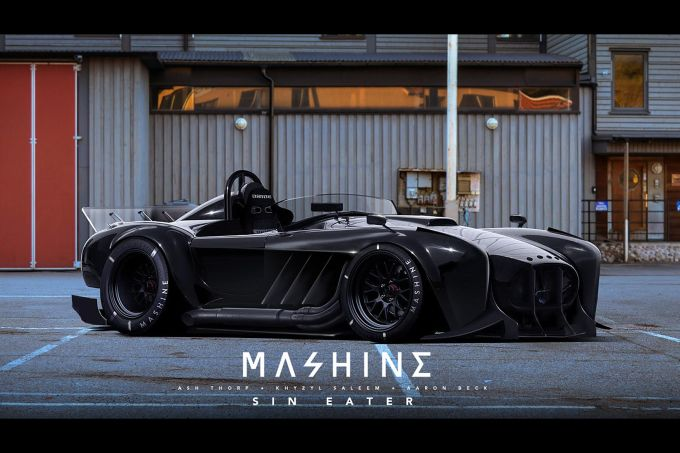 In Your Face Sci-Fi Punk Works Style - Speedhunters