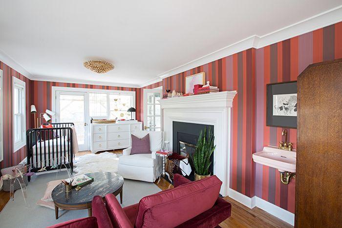 One Room Challenge Week Six Sunroom Office Nursery Reveal The Makerista Living Room Inspiration Sunroom Office Room One room challenge week six