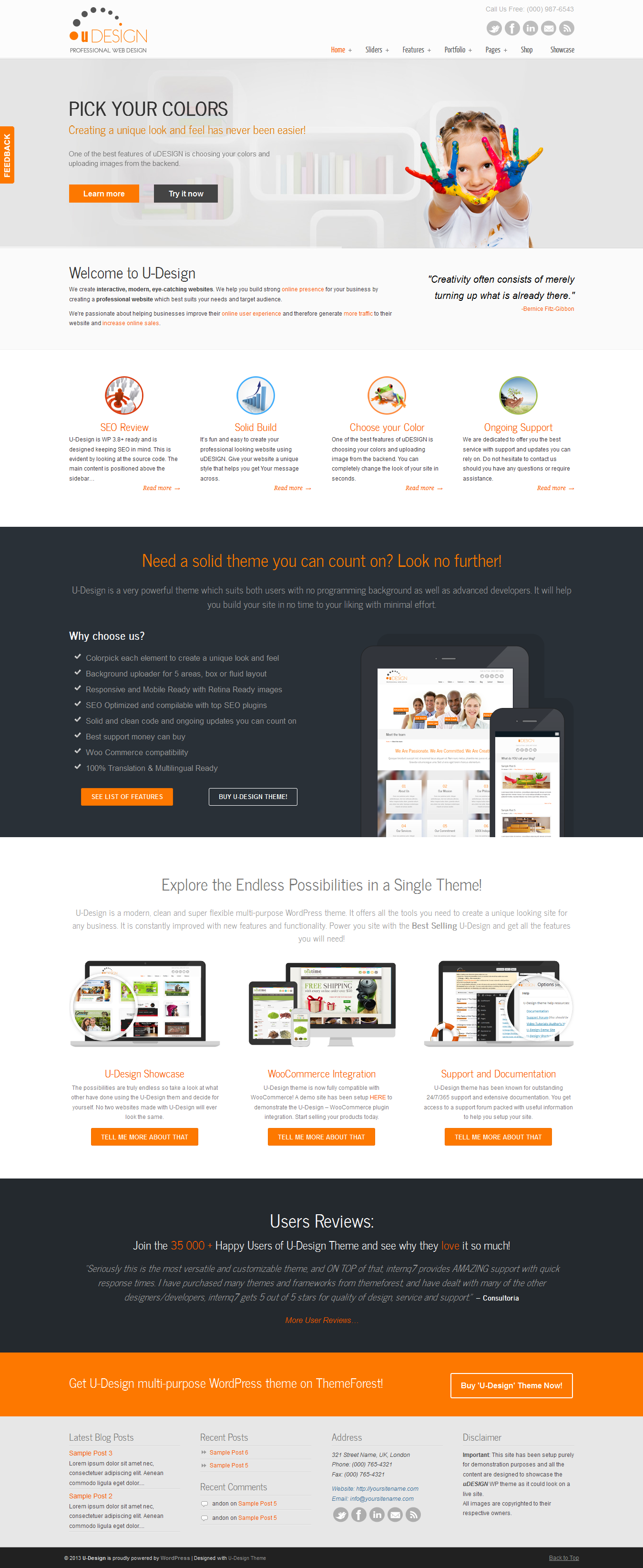 15+ Best Creative Business WordPress Themes of 2014  web  design  corporate 63b542d2f