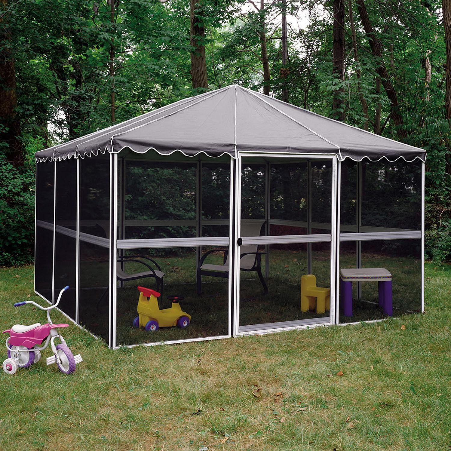 Savannah Pavilion Sam S Club In 2020 Pergola Gazebo Screen Enclosures