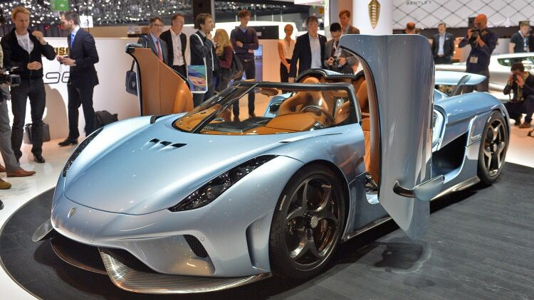 Koenigsegg Regera Super-hybrid $1.89 million Swedish automaker, reigns supreme carbon fiber body with 1,500 horsepower.   Combination of power, responsiveness and luxury.
