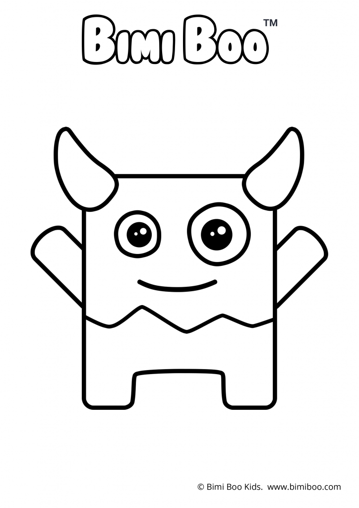- Free Coloring Book Printable Coloring Pages Monsters Bimi Boo  #freebie #coloringbook #coloring #printable #coloringpages #forkids # Preschoolers #bimiboo #…