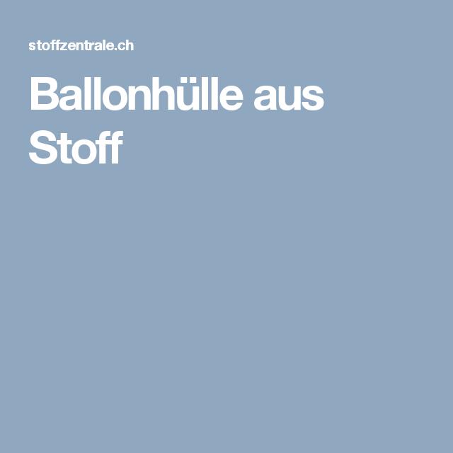 Ballonhulle Aus Stoff Stoffzentrale Ag Mokkatorte Mokka Torten
