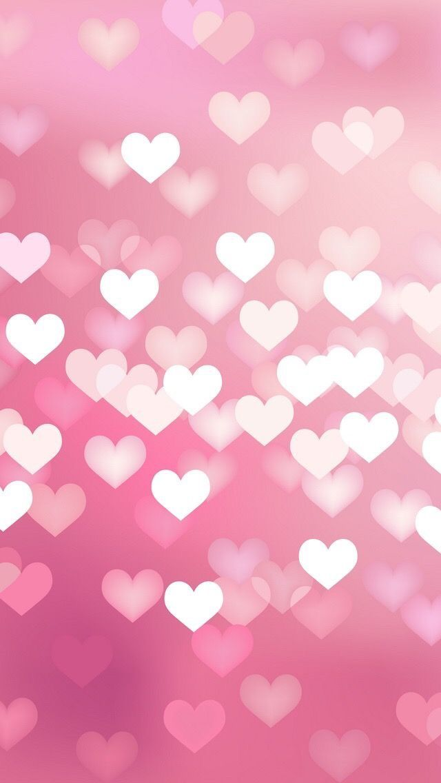 Twinkle hearts light iphone wallpaper | iPhone Wallpapers ...