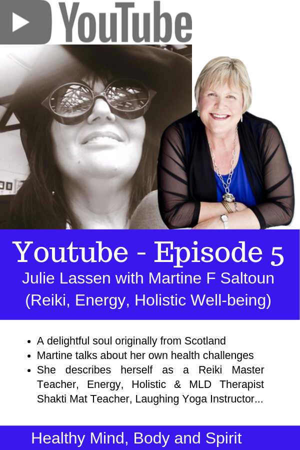 Interview on Youtube - Laughing Yoga She describes herself as a Reiki Master Teacher, Energy, Holistic & MLD Therapist Shakti Mat Teacher, Laughing Yoga Instructor... Yes, a large repertoire of modalities that she uses in her life and work.