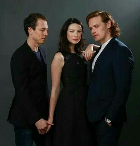 Tobias, Caitriona and Sam