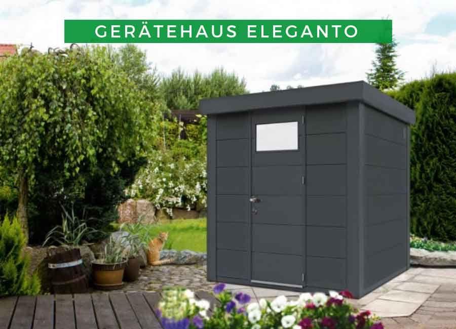 Wolff Metallgeratehaus Eleganto 2121 Gartenhaus Metall Metallgeratehaus Gerateschuppen