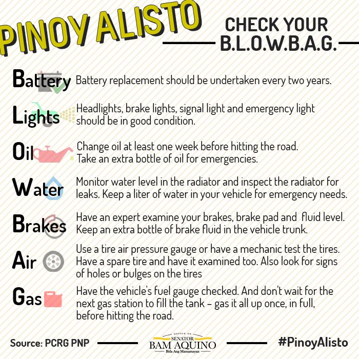 Check Your CarS Blowbag  Pinoy Alisto    Pinoy