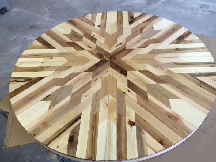 Made By Woodhand stoly z odpadoveho dreva 9
