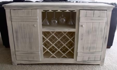 Farmhouse Wine Buffet Do It Yourself Home Projects From