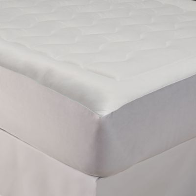 Buy Perfect Fit Tempacool Twin Mattress Pad From Bed Bath Beyond Mattress Pad Mattress Mattress Stains