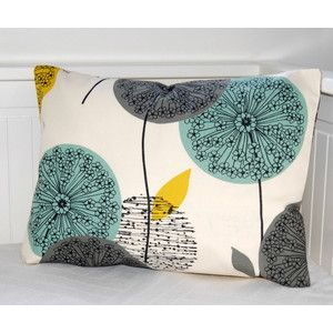 patterned pillows red mustard turquoise grayGoogle Search