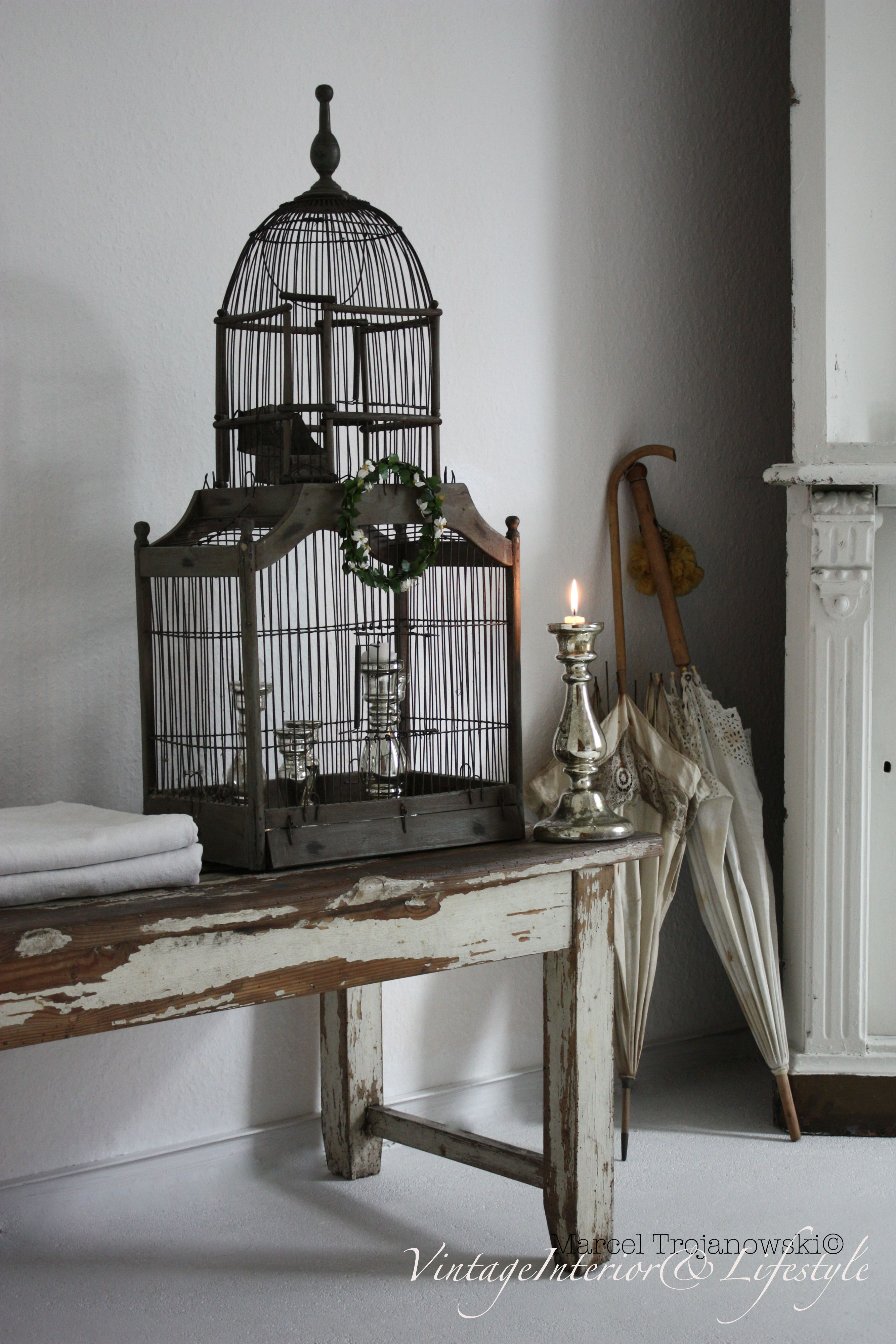 pure elegance and glamour in our home antiquebirdcage