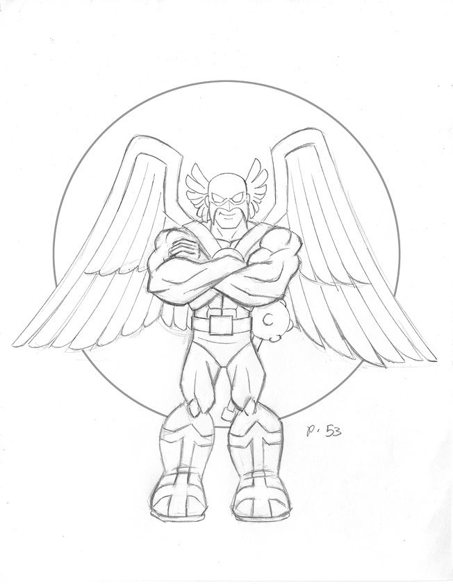 Superhero Thanos Coloring Pages: Marvel Falcon Coloring Pages