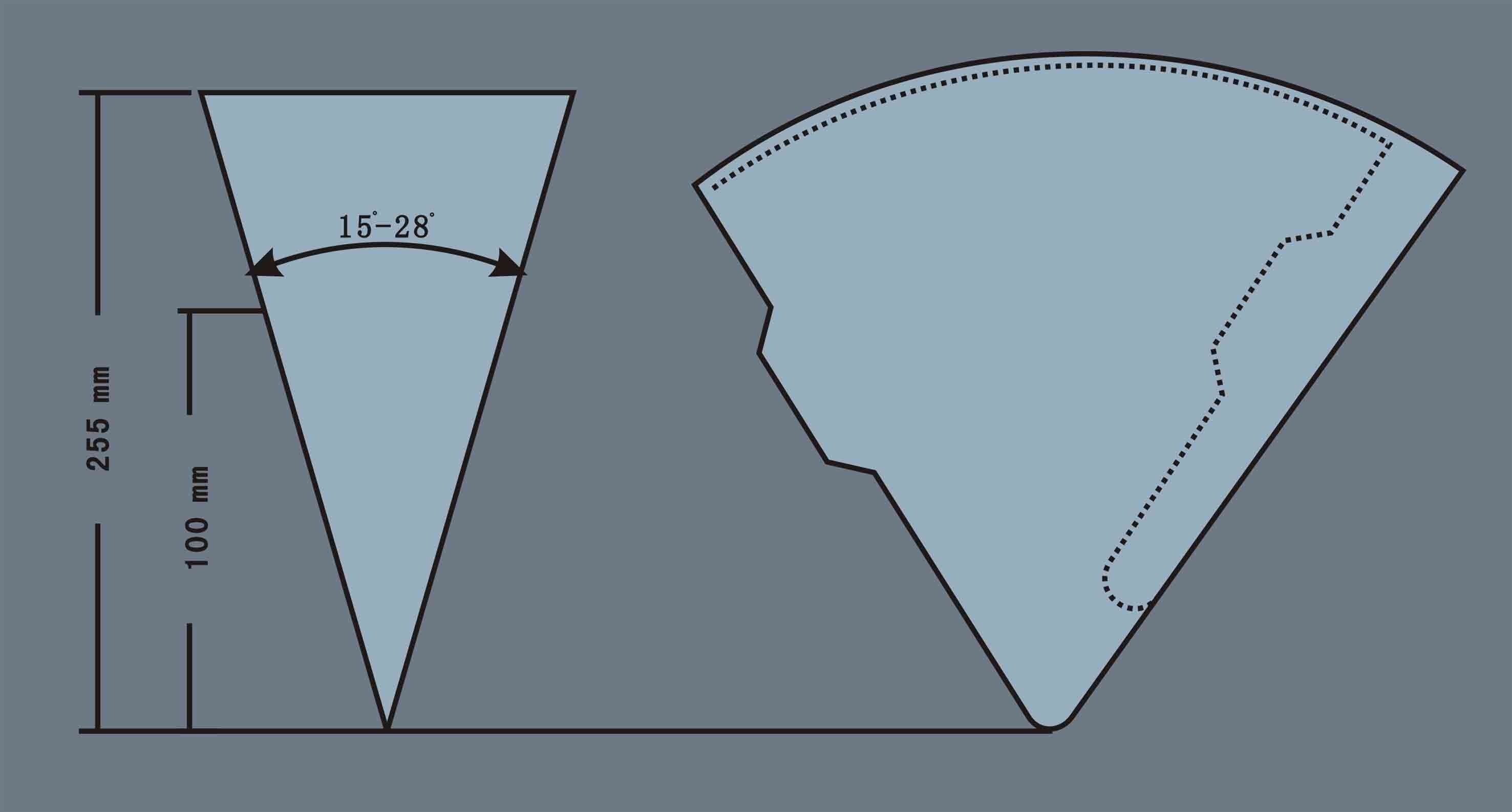 Paper Cone Template Paper Crafting Goodness Pinterest Paper