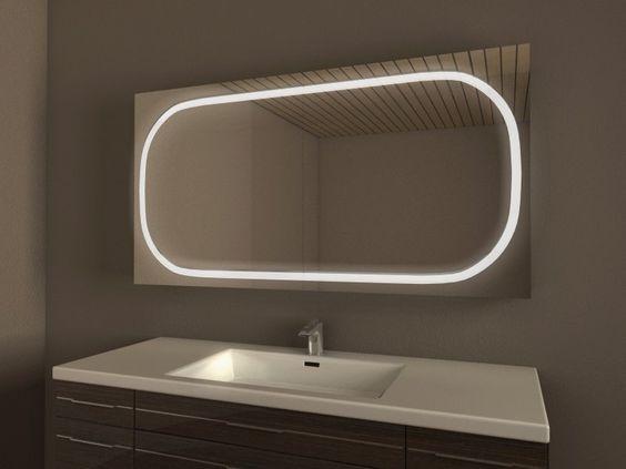 Einzigartiger Badezimmer Spiegelschrank, Unterputz/Einbau