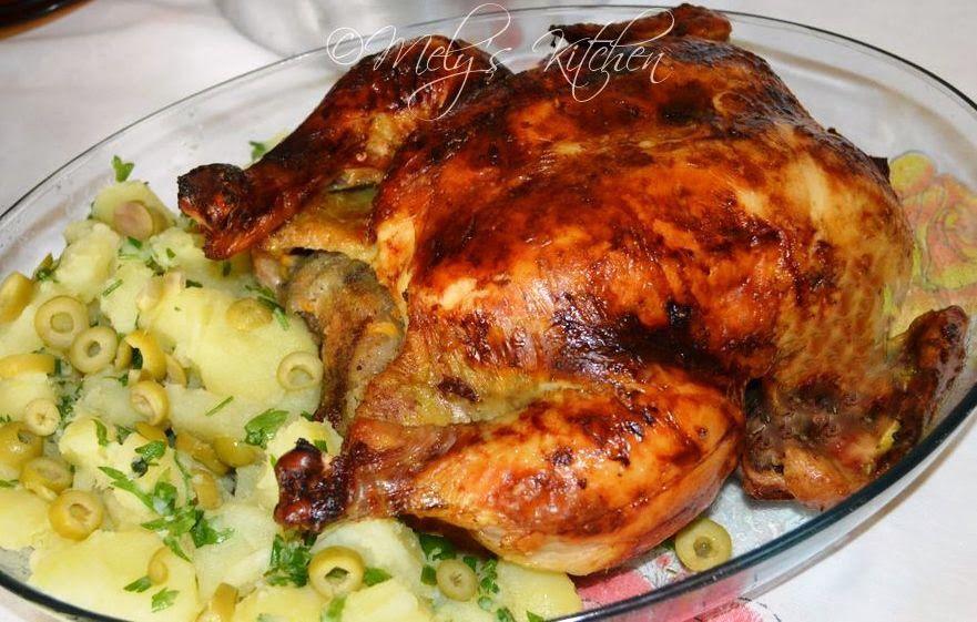 Roasted Chicken with Sprite - Mely's kitchen | comida para ...