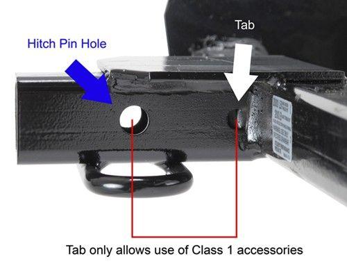 "Draw-Tite Sportframe Trailer Hitch Receiver - Custom Fit - Class I - 1-1/4"" Draw-Tite Trailer Hitch 24822"