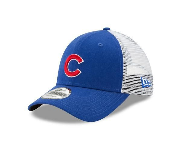 b52387773a6 Chicago Cubs 9FORTY Trucker Duel New Era Adjustable Hat in 2019 ...
