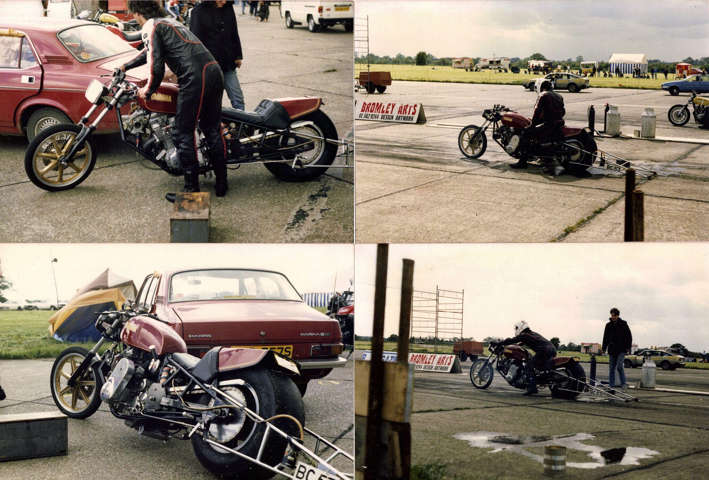 Blown Xs1100 Comp Bike At North Weald Bike Motorcycle Top Fuel