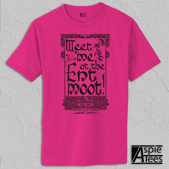 Ent Moot Tshirt Meet Me At The Ent Moot Treebeard By